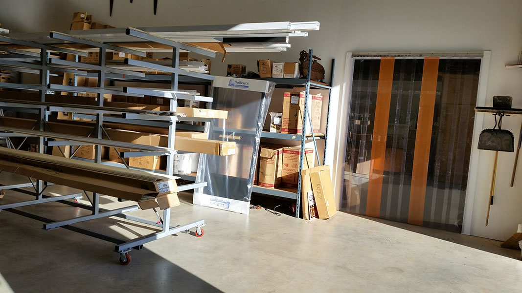 interior storage construction products